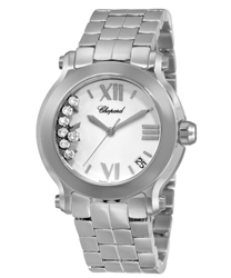 Chopard Happy Sport Round Ladies Watch Model 278477-3001