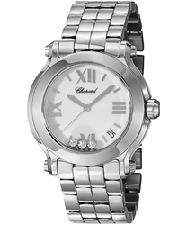 Chopard Happy Sport Round Ladies Watch Model 278477-3013