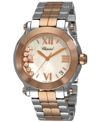 Chopard Happy Sport Ladies Watch Model 278488-9002