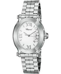 Chopard Happy Sport Oval Ladies Watch Model: 278546-3003
