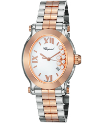 Chopard Happy Sport Oval Ladies Watch Model 278546-6003