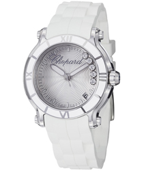 Chopard Happy Sport Round Ladies Watch Model 278551-3001