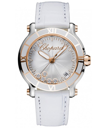 Chopard Happy Sport Round Ladies Watch Model 278551-6002