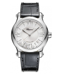 Chopard Happy Sport Round Ladies Watch Model 278559-3001