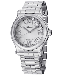 Chopard Happy Sport Round Ladies Watch Model 278559-3002