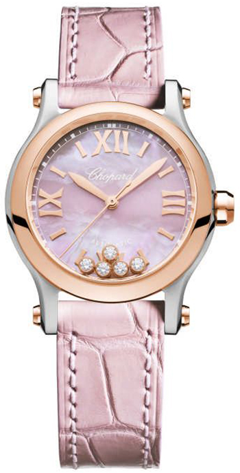 Chopard Happy Sport Ladies Watch Model 278573-6011