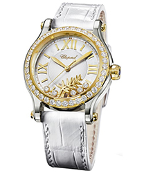 Chopard Happy Palm  Ladies Watch Model 278578-4001
