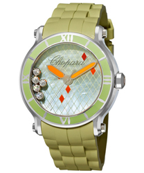 Chopard Happy Sport Round Ladies Watch Model 288524-3003