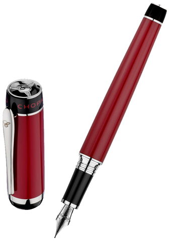 Chopard Racer Fountain Pen Model 95013-0372