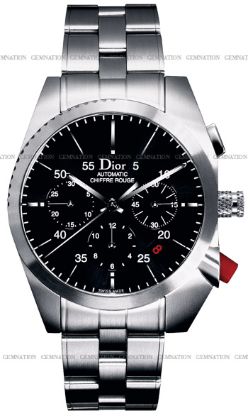 Christian dior chiffre rouge chronograph men 39 s watch model cd084610m001 for Christian dior watches