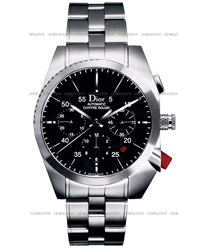 Christian Dior Chiffre Rouge Mens Wristwatch