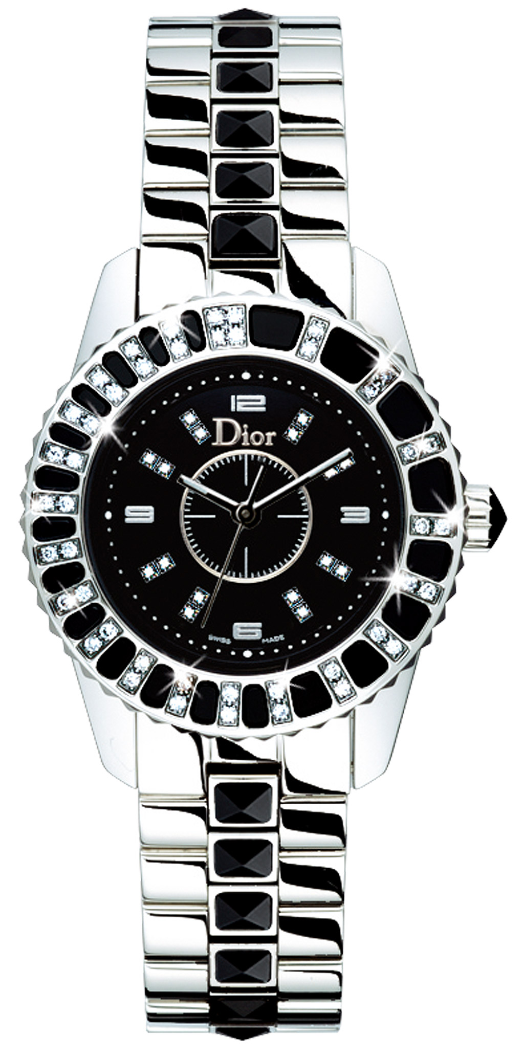 Christian dior christal ladies watch model cd112116m001 for Christian dior watches