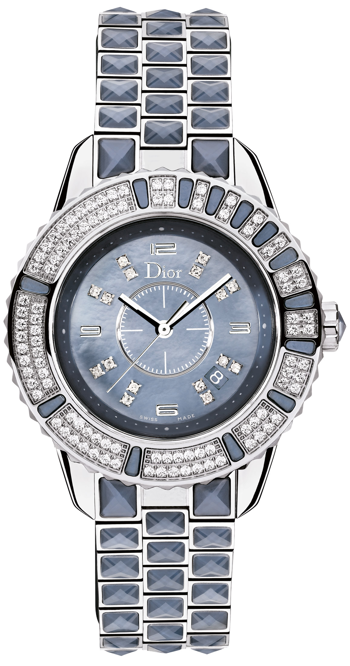 Christian dior christal ladies watch model cd11311gm001 for Christian dior watches