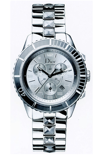 Christian dior christal chronograph unisex watch model cd114312m001 for Christian dior watches