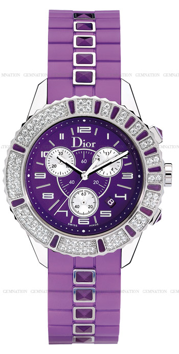 Christian Dior Christal Ladies Watch Model CD11431JR001
