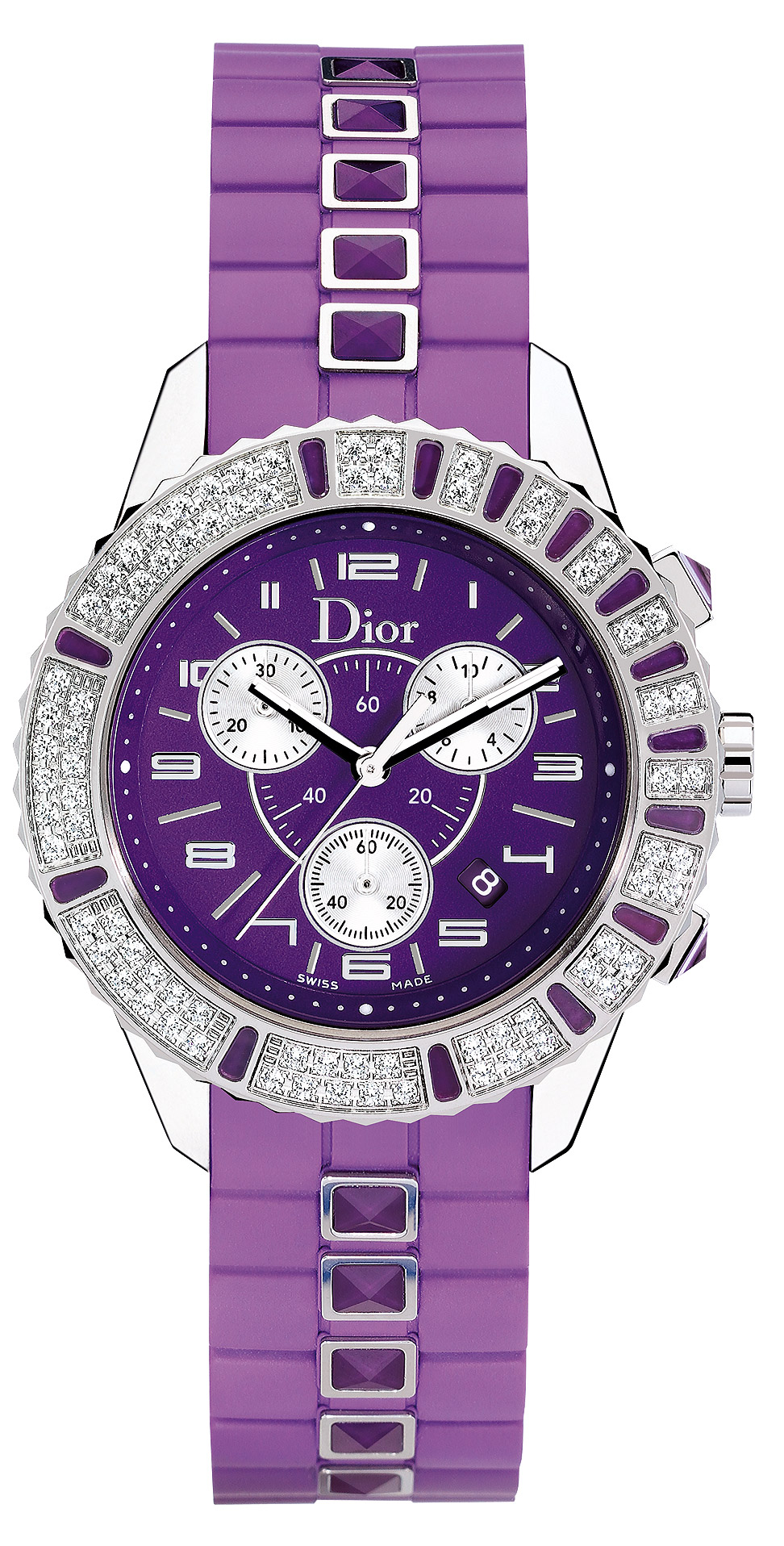 Christian dior christal chronograph ladies watch model cd11431jr001 for Christian dior watches