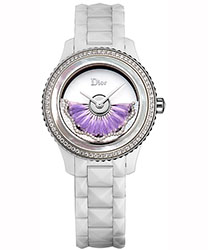 Christian Dior White VIII Ladies Watch Model: CD123BE1C003