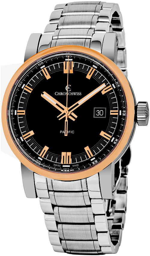 Chronoswiss Grand Pacific Men's Watch Model CH-2882B-BK2 Thumbnail 2