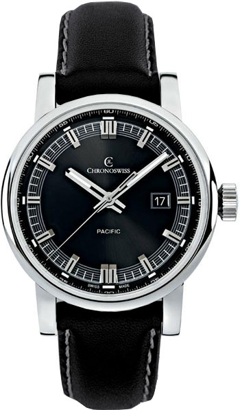Chronoswiss Pacific Men's Watch Model CH-2883-BK