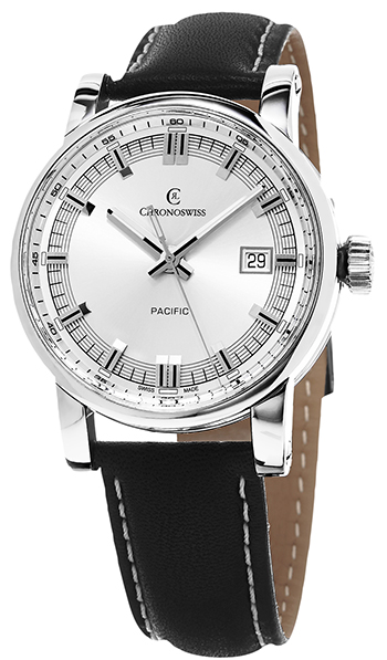 Chronoswiss Pacific Men's Watch Model CH-2883B-SI