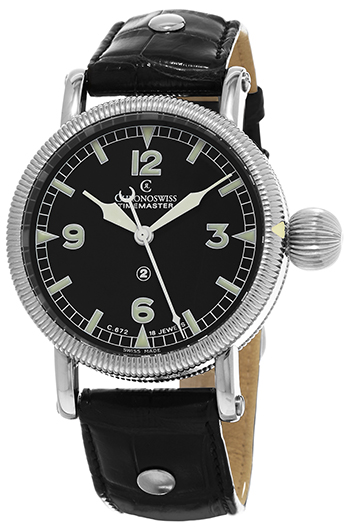 Chronoswiss Timemaster Automatic Men's Watch Model CH-6233-BK