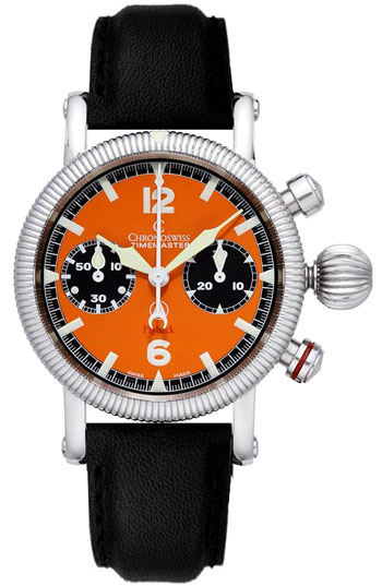 Chronoswiss Timemaster Chronograph Flyback Men's Watch Model CH-7633-OR2