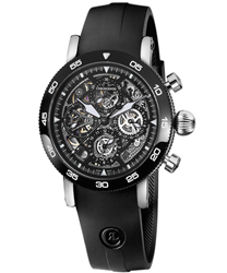 Chronoswiss Timemaster Chronograph Skeleton Men's Watch Model: CH9043S-BK
