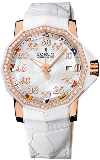 Corum Admirals Cup Ladies Watch Model 082-951-85-0089-PN34
