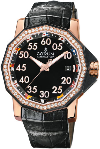 Corum Admirals Cup Ladies Watch Model 082-954-85-0081-PN33