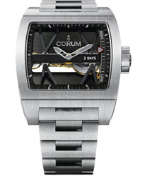 Corum Ti-Bridge 3 Day Power Reserve Mens Wristwatch