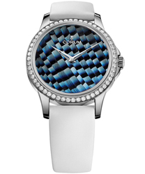 Corum Artisans Feather Ladies Watch Model 110.601.47-0049 PL03