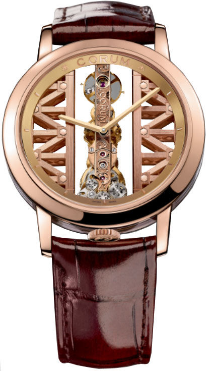 Corum Golden Bridge Men's Watch Model 113.90.55-0F02 Thumbnail 4