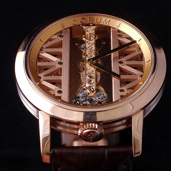 Corum Golden Bridge Men's Watch Model 113.90.55-0F02 Thumbnail 3