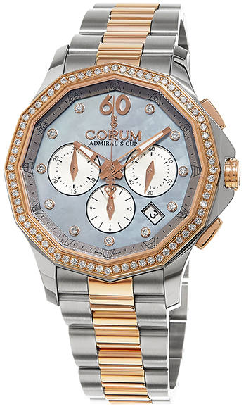 Corum Admirals Cup Ladies Watch Model 132.101.29-V200-PK