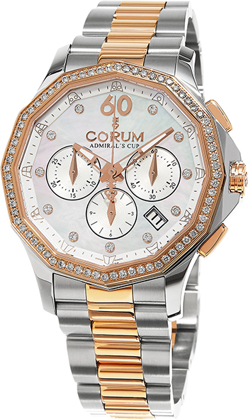 Corum Admirals Cup Ladies Watch Model 132.101.29-V200-PN