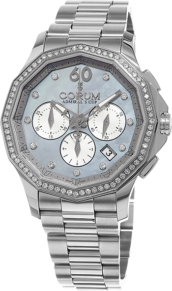 Corum Admirals Cup Ladies Watch Model 132.101.47-V200-PK