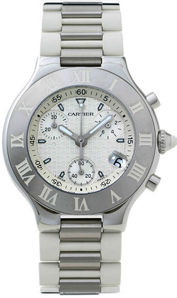 Cartier 21 Must De Cartier Men's Watch Model W10184U2
