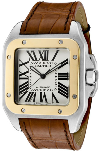 Cartier Santos Men's Watch Model W20072X7