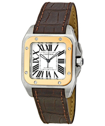 Cartier Santos Men's Watch Model W20107X7