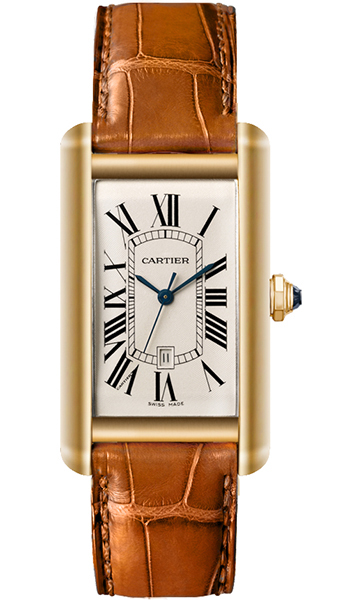 Cartier Tank Americaine Men's Watch Model W2603156