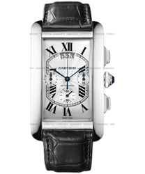 Cartier Tank Americaine Men's Watch Model W2609456