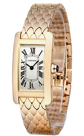 Cartier Tank Americaine Ladies Watch Model W2620031