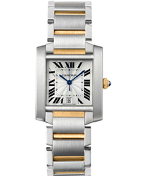 Cartier Tank Mens Wristwatch
