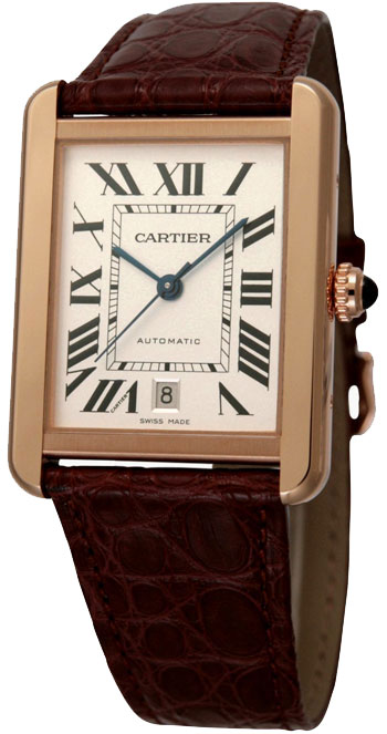 Cartier Tank Ladies Watch Model W5200026