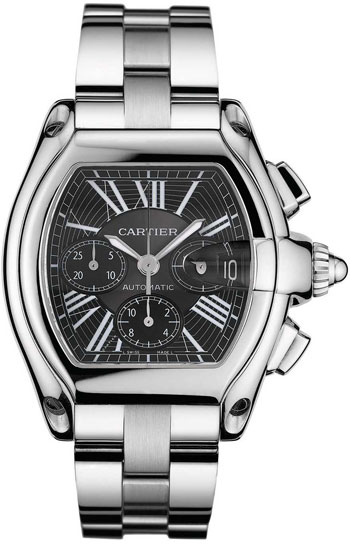 Cartier Roadster Chronograph Mens Wristwatch Model: W62020X6