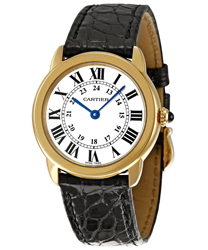 Cartier Ronde Louis Cartier Ladies Watch Model W6700355