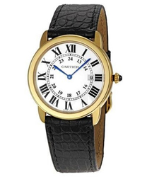 Cartier Ronde Louis Cartier Mens Wristwatch