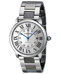 Cartier Ronde Men's Watch Model: W6701011