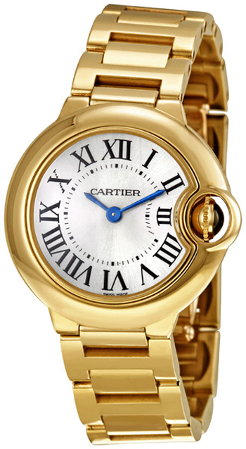 Cartier Ballon Bleu Ladies Watch Model W69001Z2