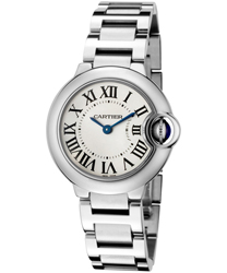 Cartier Ballon Bleu Ladies Watch Model W69010Z4